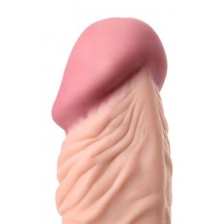 vibratore vaginale dildo vibratore di A-toys con glande pronunciato