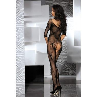 tuta tutina a rete calza corpo lingerie sexy intimo donna