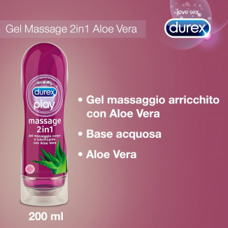 Play Massage 2in1 Aloe Vera Durex