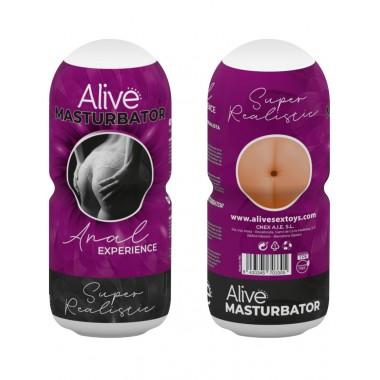 Alive masturbatore maschile super realistic The Real Deal Anal