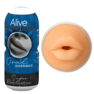 Alive masturbatore portatile maschile a forma di bocca