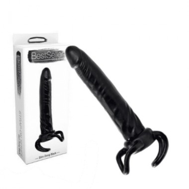 fallo realistico dildo strap-on indossabile uomo nero