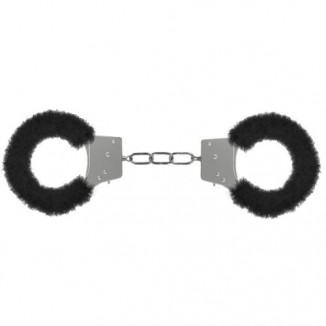 sexy manette BDSM Sadomanso Bondage Beginner's Handcuffs Furry Nero
