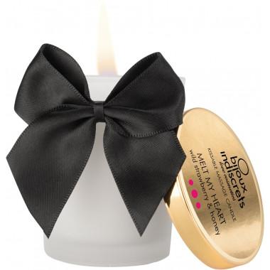 candela profumata da baciare alla fragola