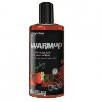 olio gel massaggi lubrificante commestibile WARMup Fragola