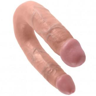 dildo doppi anale vaginale King Cock Double Trouble