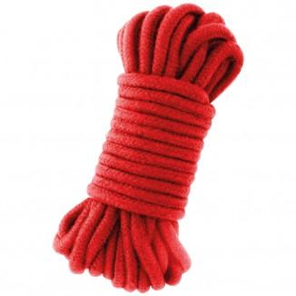 corda rossa in cotone per legature sadomaso