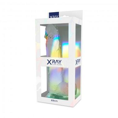 Dildo Realistico Trasparente in Jelly a