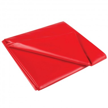 telo copriletto in latex rosso matrimoniale per giochi erotici di coppia