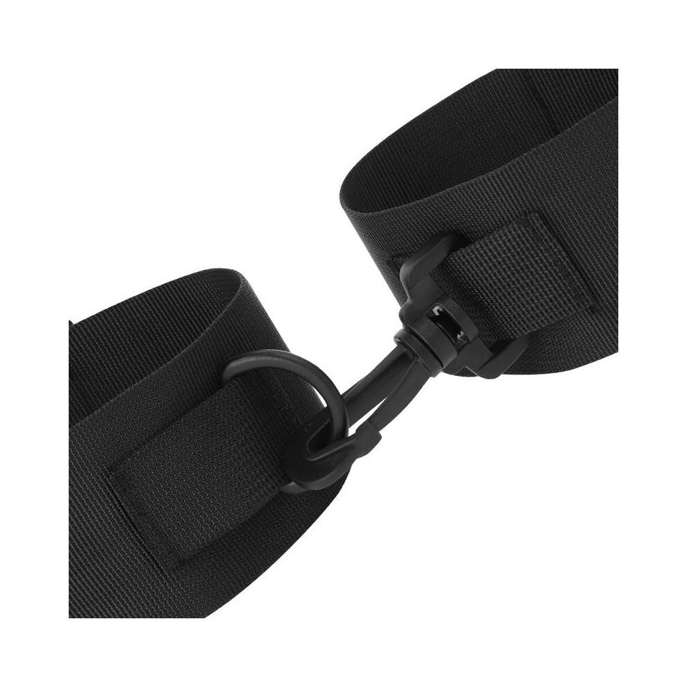 manette in tessuto nylon a strappo Handcuffs Darkness