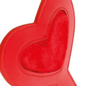 Paletta Sculacciatore Cuore Bondage BDSM Darkness Paddle Love Red Rosso