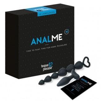 gioco erotico kit del piacere per la coppia Anal Me di Tease and Please