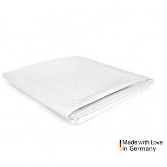 Telo copriletto in latex bianco matrimoniale per giochi erotici di coppia