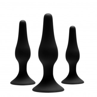 set anal trainer toys in silicone