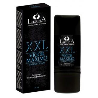 crema sviluppante pene Vigor Maximo XXL Luxuria