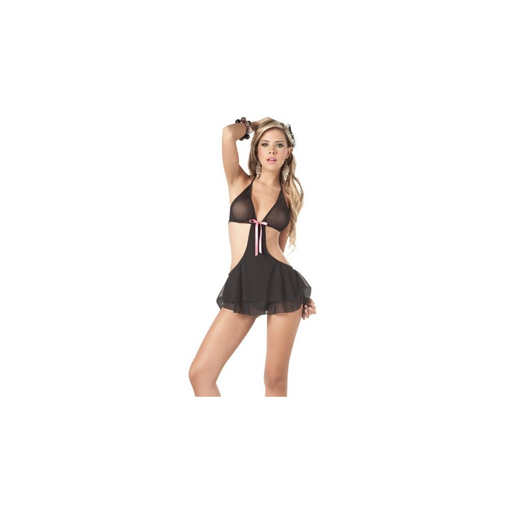 Completo babydoll sexy lingerie intimo