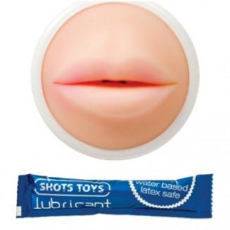 masturbatore bocca per uomo di shots toys