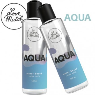 gel lubrificante intimo unisex base acqua Aqua love match