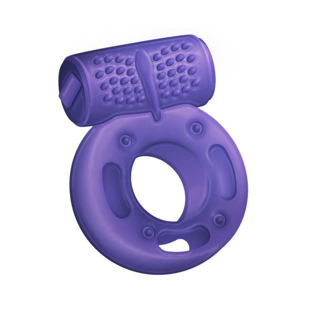 anello vibrante viola Gringo di LoveMath