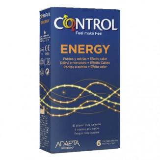 profilattici condom Control Energy 6 pz
