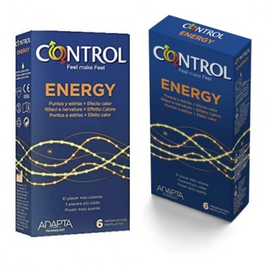preservativi stimolanti Control Energy 6 pezzi