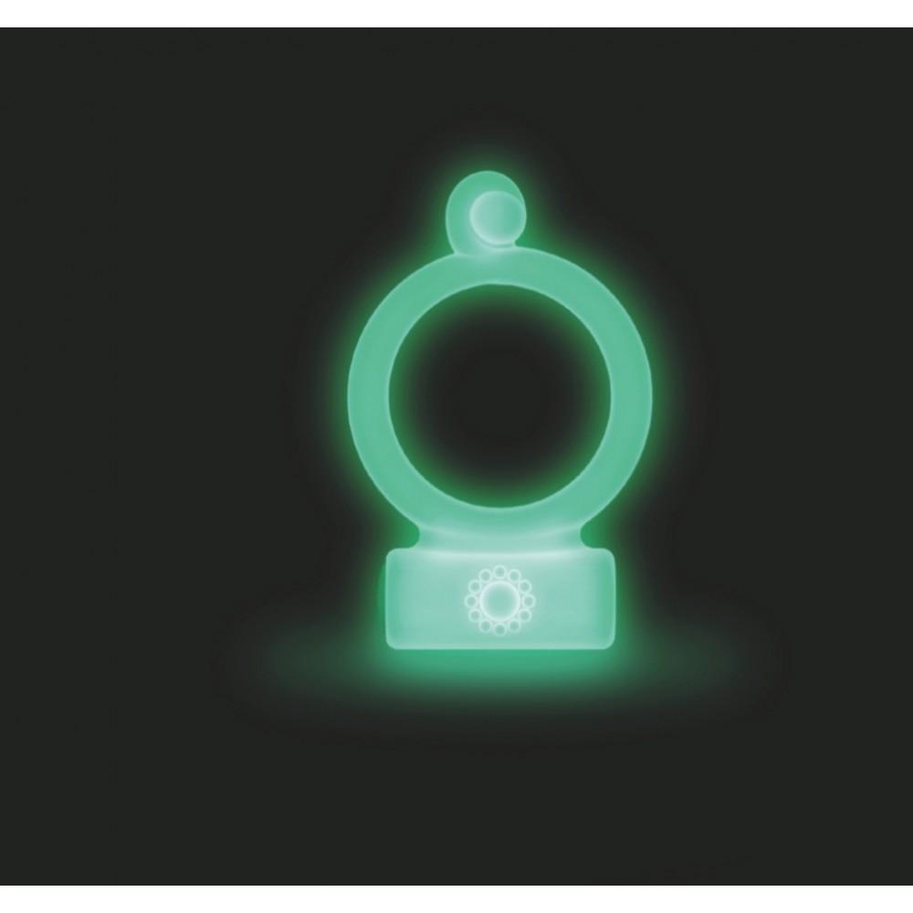 anello per il pene cockring in silicone colore fluo