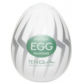 masturbatore per uomo in silicone Egg Thunder di Tenga