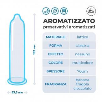 condom Love Match Aromatizzati 193 mm x 53 mm