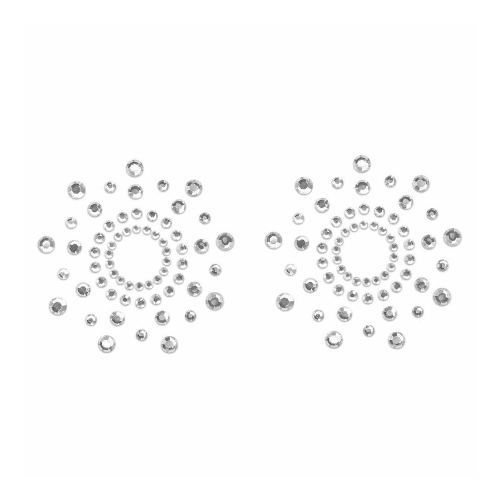 Copricapezzoli adesivi skin jewelry silver di Bijoux Indiscrets