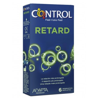 preservativi ritardanti Control Retard Adapta 6 pezzi