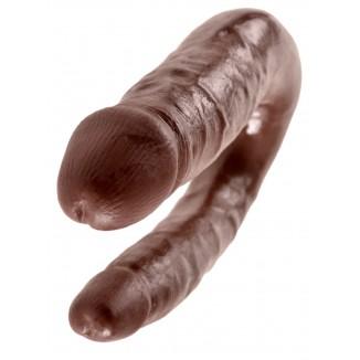 dildo doppio double per stimolazione anale e vaginale