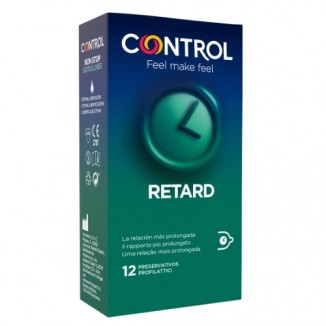 profilattici ritardanti Control retard Non Stop 12 pezzi