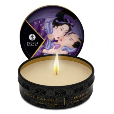 mini candela ad olio per massaggio di coppia 30 ml