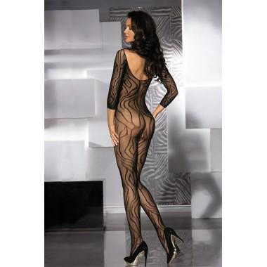 tutina a rete sexy lingerie donna bodystocking hot velato